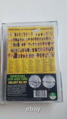 Vintage Kenner Star Wars 1985 92-back Potf Empereur Moc Afa 80