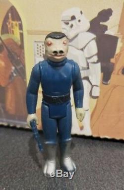 Vintage Kenner Star Wars Blue Snaggletooth Cantina 1978 Sans Accrocs