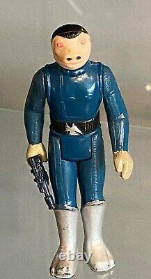 Vintage Kenner Star Wars Blue Snaggletooth Figure D'action 1978 Hong Kong-complete