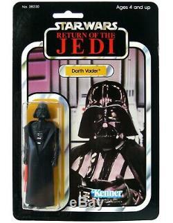 Vintage Kenner Star Wars Darth Vader Mexique LILI Ledy Crystal Clear Moc Afa IL