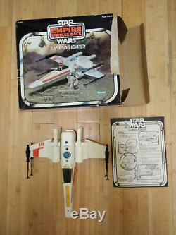 Vintage Kenner Star Wars Empire Strikes Back Fighter Esb X-wing W Box Works 100% __gvirt_np_nn_nnps<__