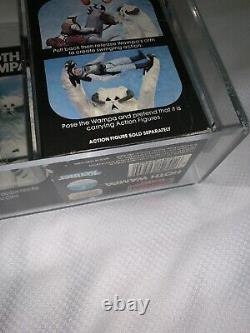 Vintage Kenner Star Wars Esb Hoth Wampa Afa 80 Nm+! Rare + Superbe Misb
