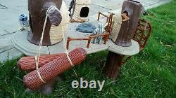 Vintage Kenner Star Wars Ewok Village 1983 Playset Ewok Figurines Jouet