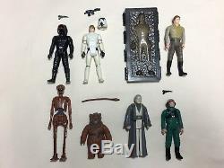 Vintage Kenner Star Wars / Figurines / Énorme Lot De 112, Créatures Complètes