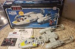 Vintage Kenner Star Wars Jedi Retour Rotj 1983 1984 Y-wing Box Y Wing Catalogue