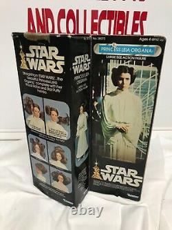 Vintage Kenner Star Wars Princesse Leia Organa 12 Doll Withoriginal Box