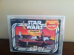 Vintage Kenner Star Wars Série Collector Afa Q85 Land Speeder Véhicule 1983