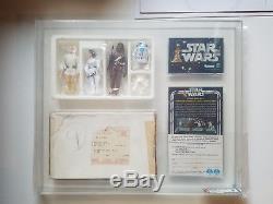 Vintage Kit Kenner Star Wars 1978 Pour Les Lève-tôt Avec Sabre Télescopique Afa 70