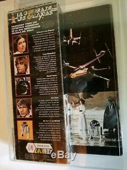 Vintage LILI Ledy Star Wars 1978 Tusken Raider Mib Afa Ng Avec Coa