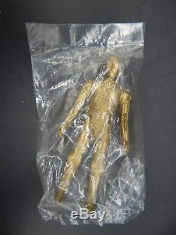 Vintage LILI Ledy Surstock Star Wars Or C-3po Figurine Mexique Baggie Ko