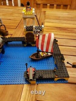 Vintage Lego Pirates Imperial Trading Post (6277) Complet Avec Instructions
