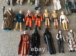 Vintage Original Kenner 40 Star Wars Figure Arme Accessory Vader Case Lot