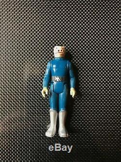 Vintage Original Star Wars Bleu Snaggletooth Withtoe Dent (kenner 1978)