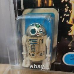 Vintage Original Star Wars Dernière 17 R2-d2 Pop Up Lightsaber 1977 Carte Originale