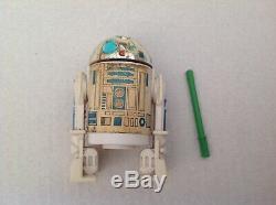 Vintage Original Star Wars R2-d2 Pop-up Lightsabre Action Figure Dernière 17 1985