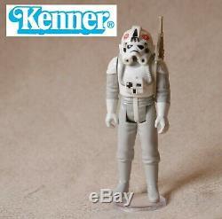 Vintage Rare 1981 Kenner Star Wars At-at Vehicule Walker Avec At-at Complète Du Pilote