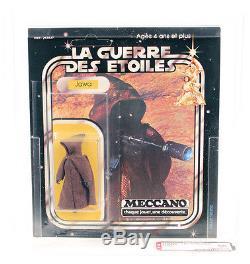 Vintage Star War Cardée Étrangère 1978 Meccano Jawa Afa 20 Retour 60 # 17462609