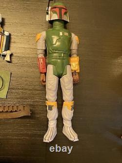 Vintage Star Wars 12 Pouces Boba Fett Figure 1978