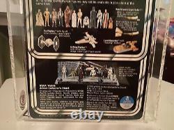 Vintage Star Wars 12 Retour Afa Cas Ukg 85 Sand Person