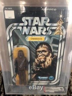 Vintage Star Wars 12 Retour-a Afa 80 Chewbacca Vert Bowithsku Unpunched