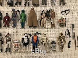 Vintage Star Wars 1977-1984 Figures Lot. Comprend 12 Original! Pas Repro