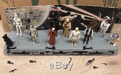 Vintage Star Wars 1977 Début D'oiseau Courrier Présentoir Avec Des Chiffres
