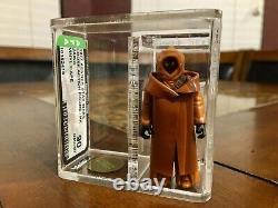 Vintage Star Wars 1977 Kenner Vinyl Cape Jawa Hk Figure Afa 90 Nm+/mt Cib