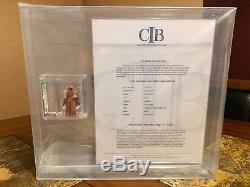 Vintage Star Wars 1977 Kenner Vinyle Cape Jawa Hk Figurine Afa 90 Nm / M + Cib