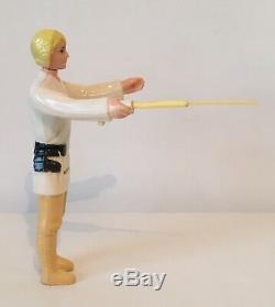 Vintage Star Wars 1977 Luke Skywalker Avec Sabre Télescopique Dt