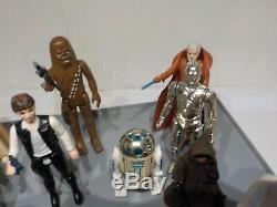 Vintage Star Wars 1977 Première 12 Action Figures Ensemble Complet D'armes Originales (a2)