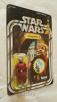 Vintage Star Wars 1978 Snaggletooth, 20-back, Moc