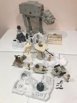 Vintage Star Wars 1979-1981 Strikes Empire Retour Lot De 17 At At Hoth Base De Probot