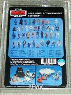 Vintage Star Wars 1980 Afa 80 Skywalker Fatiguent Bespin Luke Retour Esb Carte Moc