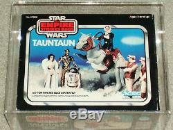 Vintage Star Wars 1980 Kenner Afa / Cas 75 Tauntaun Esb Coffret Mib