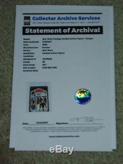 Vintage Star Wars 1980 Kenner Cas 85 Dengar Esb 41 Back Card Moc Unpunch Pas Afa