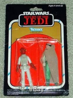 Vintage Star Wars 1983 2-pack Admirale Ackbar Prune Visage Rotj Kenner Moc Afa It
