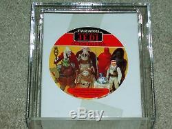 Vintage Star Wars 1983 Boîte De 7 Figurines Afa 85 Rotj Villians - Boîte Scellée - Boîte Scellée