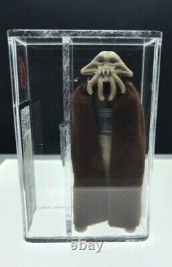 Vintage Star Wars 1983, Ukg 85% LILI Ledy Squid Head Burgundy Cape Rare Not Afa