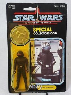 Vintage Star Wars 1985 Kenner Imperial Gunner Potf 92 Carte Retour Moc
