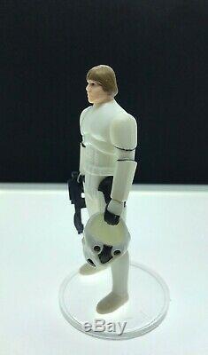 Vintage Star Wars 1985 Kenner Luke Storm Trooper Tenue Potf Dernier 17