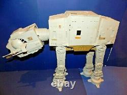 Vintage Star Wars At-at Walker Complet Avec La Boîte De Travail Électrique