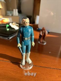 Vintage Star Wars Blue Snaggletooth Toe Dent Original
