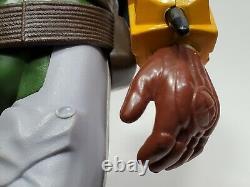 Vintage Star Wars Boba Fett 12 Inch Figure Complète Original Kenner Nice