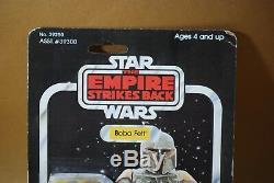 Vintage Star Wars Boba Fett Action Figure 41 D Retour Kenner Moc + Étui Esb