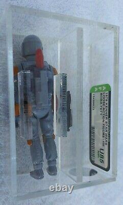 Vintage Star Wars Boba Fett Afa U85 Uncirculated Action Figure Hk Mandalorian