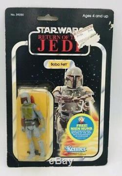 Vintage Star Wars Boba Fett Moc Rotj Offre Nien Nunb 48 D Retour Retour Le Jedi