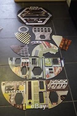 Vintage Star Wars Death Star De Palitoy Version Royaume-uni En Carton, Coffret De Jeu 1977