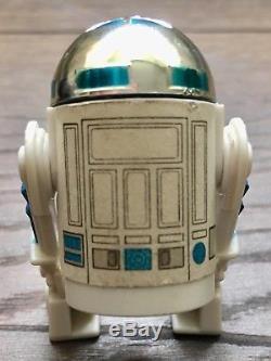 Vintage Star Wars Dernier 17 R2d2 Pop Up Sabre 100% Original