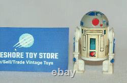 Vintage Star Wars Droids Cartoon Série Tv Figure R2d2 Pas De Sabre Original Kenner