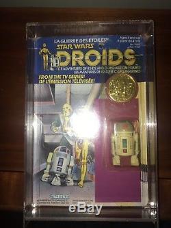 Vintage Star Wars Droids R2d2 Pop Up Saber Moc Kenner Canadien 1985